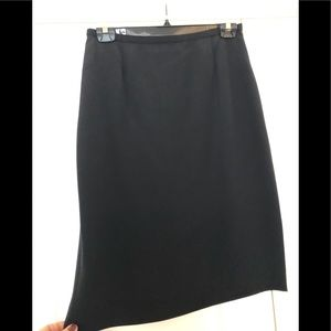 Dana Buchman Fitted Silk Skirt